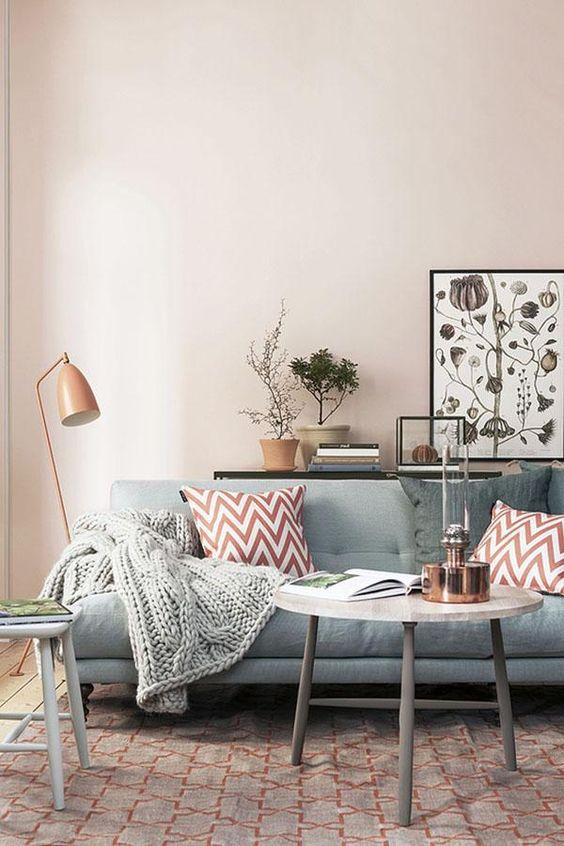 Fall Apartment Decor Trends | Copper Accents