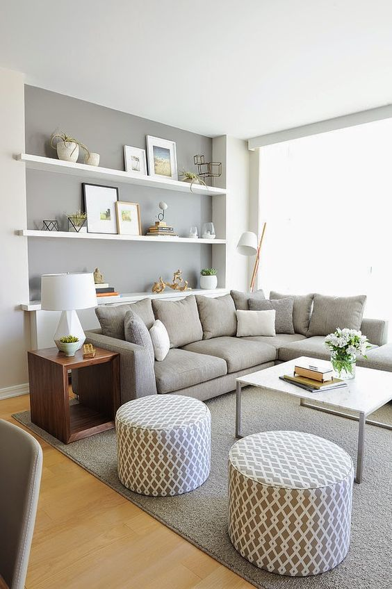 Fall Apartment Decor Trends | Gray Accents