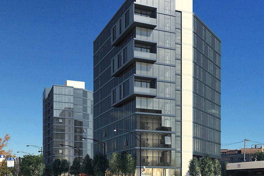 MiCA Apartments In Logan Square | Chicago Brand New Luxury Apartments |  Building Exterior
