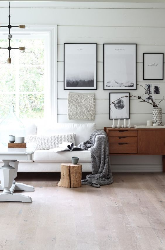 Fall Apartment Decor Trends   Natural & Organic Accents & Chunky Knits