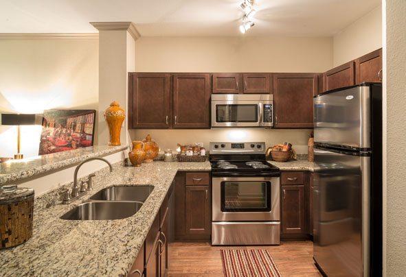 5 Camden Midtown Houston Texas Apartments Stainless Steel
