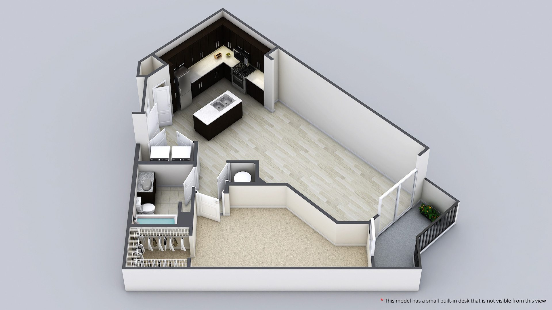 spacious orlando one bedroom apartment with walk in closet 103 s osceola ave orlando fl 32801 1 bedroom apartment
