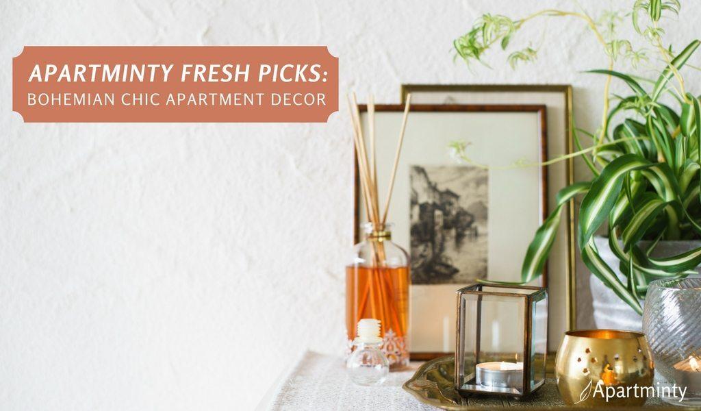 Apartminty Fresh Picks: Bohemian Chic Apartment Decor