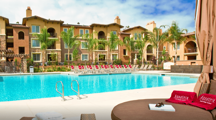 aquatera apartment homes in san diego ca best eco friendly luxury