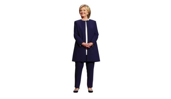 Apartminty Fresh Picks | Election Day Party | Life-Size Hillary Clinton Stand-Up Cut-Out