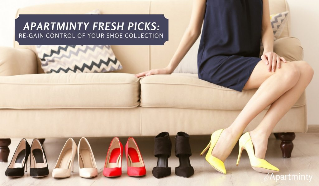 Apartminty Fresh Picks: Shoe Storage Organization For Your Apartment