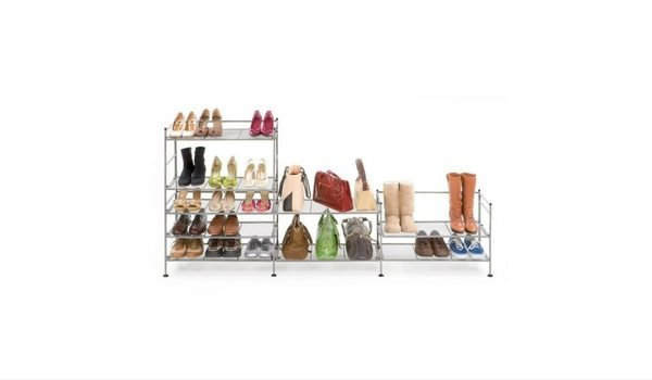 Apartminty Fresh Picks: Shoe Storage Organization For Your Apartment | Seville Classics 3-Tier Utility Rack