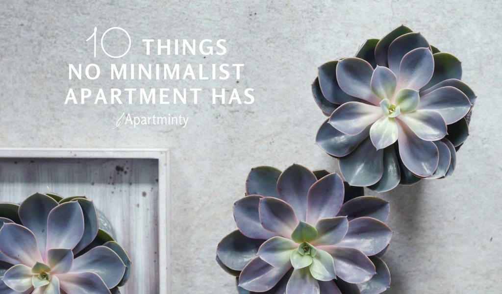 10 Things No Minimalist Apartment Has | Apartment Decluttering Guide