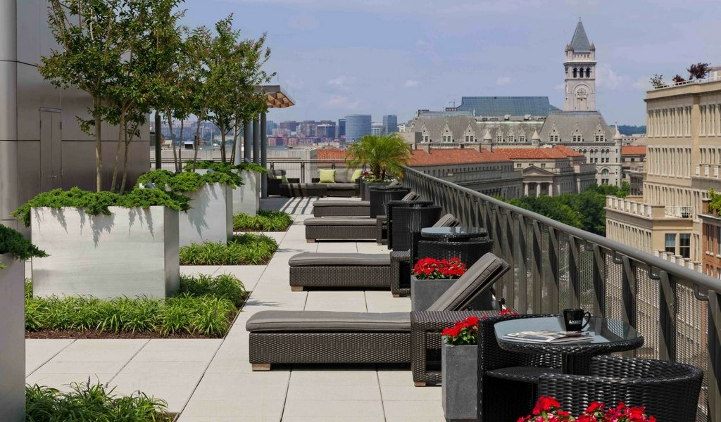 The Newseum Residences: Oversized Studio Available In Downtown DC