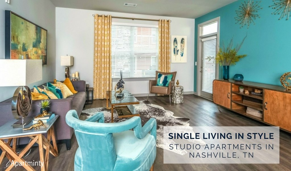 One Bedroom Apartments In Nashville Tn Part - 22: Single-Living In Style: Studio Apartments In Nashville