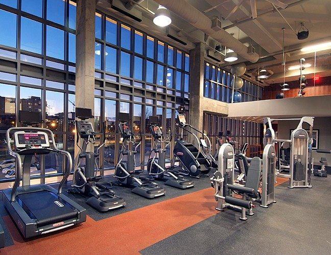 Best Apartment Fitness Centers In DC | 77 H Street Apartments | Fitness  Center