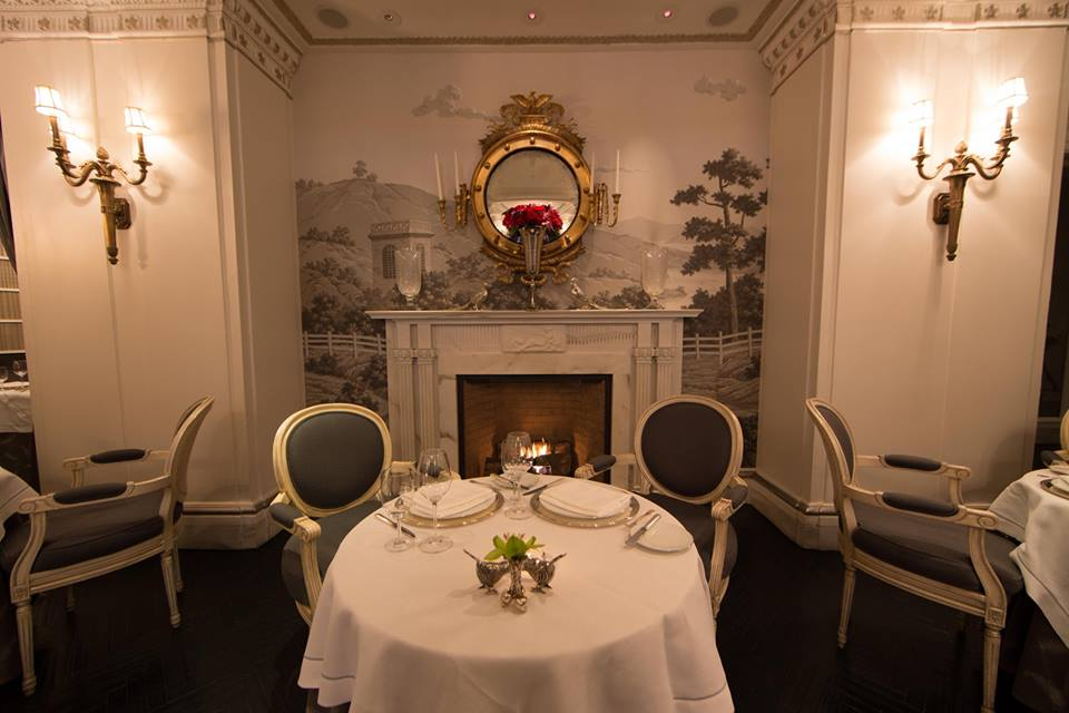 romantic-restaurants-washington-dc-plume-restaurant-fireplace-jefferson-hotel