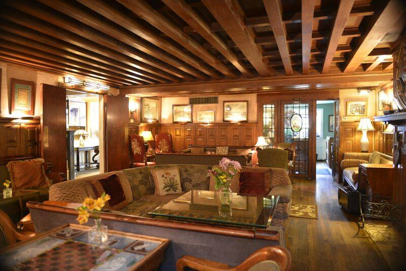 Cozy Restaurants In Dc With Fireplaces Tabard Inn Lounge