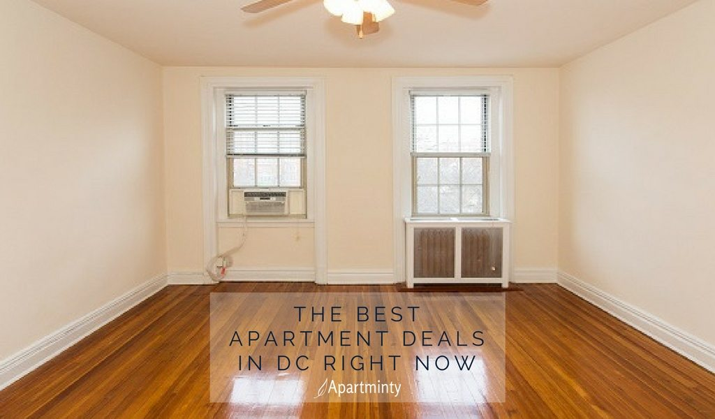 The Best Apartment Deals In DC Right Now | Cheap DC Apartments