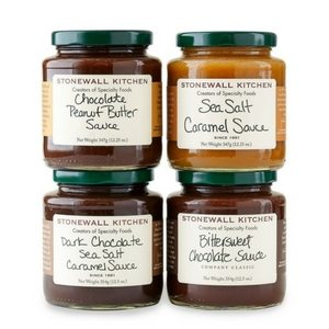 Amazon Pantry Indulgences To Order Right Now | 4-Piece Stonewall Kitchen Gourmet Dessert Sauce Set