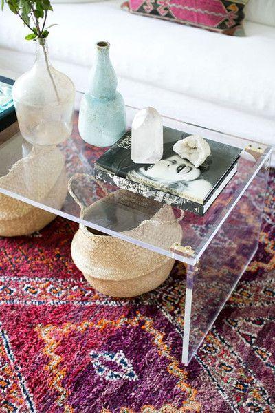 Spring Decor Trends   Modern Acrylic Decor