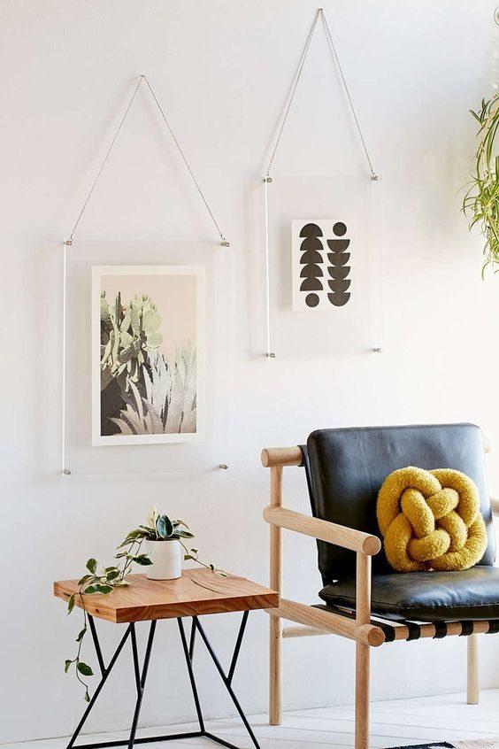 Spring Decor Trends | Modern Acrylic Decor