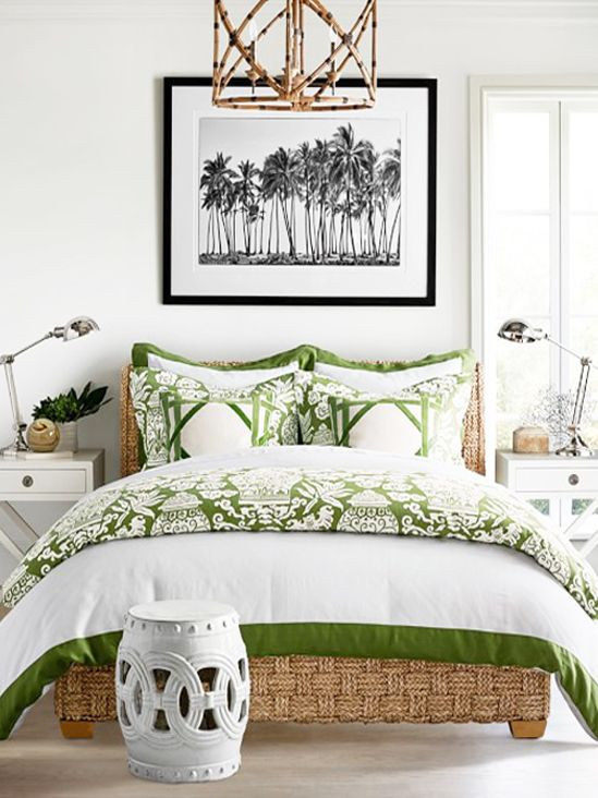 Apartment Decor For Summer | Pops Of Pantone's Greenery