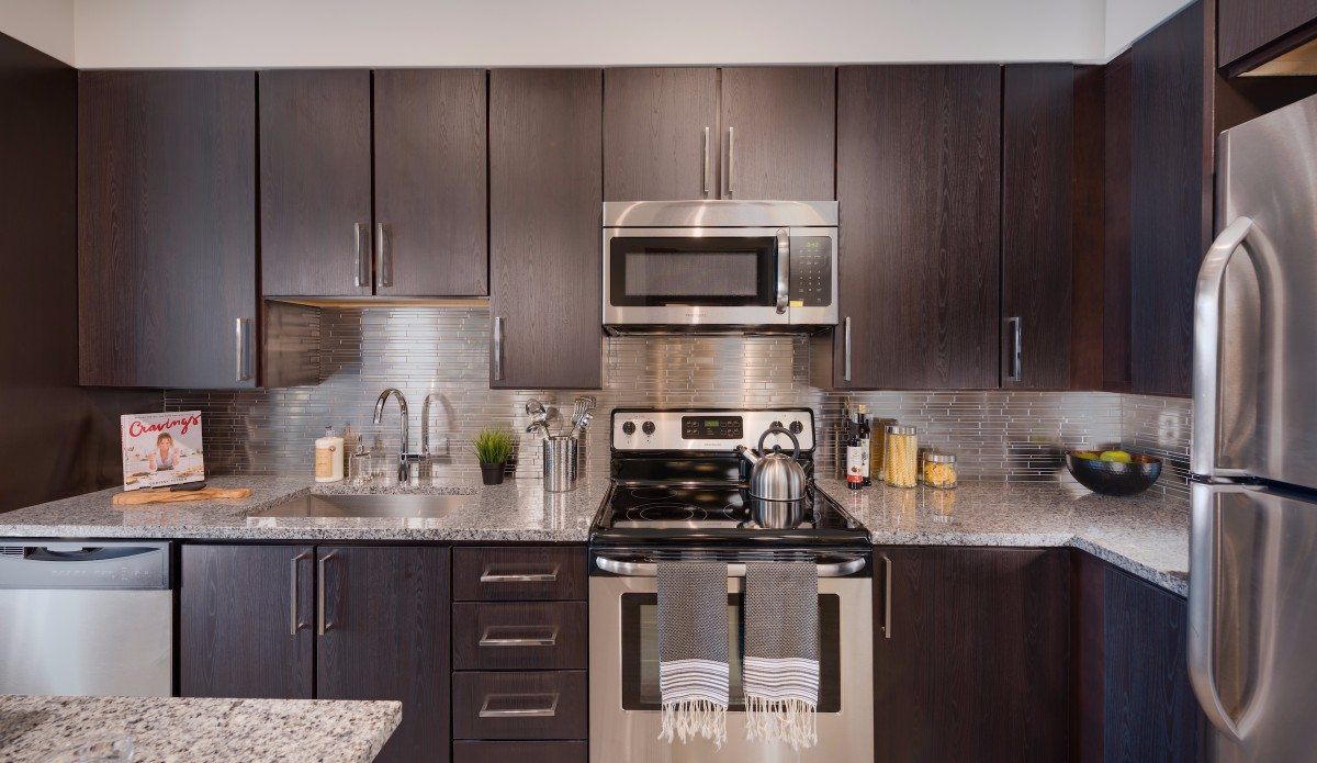 Best Gourmet Apartment Kitchens In Arlington Union On