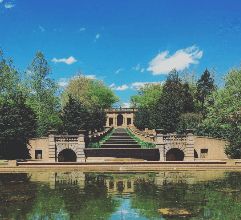 Picnic Spots In DC | Meridian Hill Park
