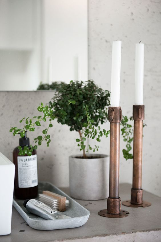 5 Things Minimalist Apartments Make Room For | Candle Holder