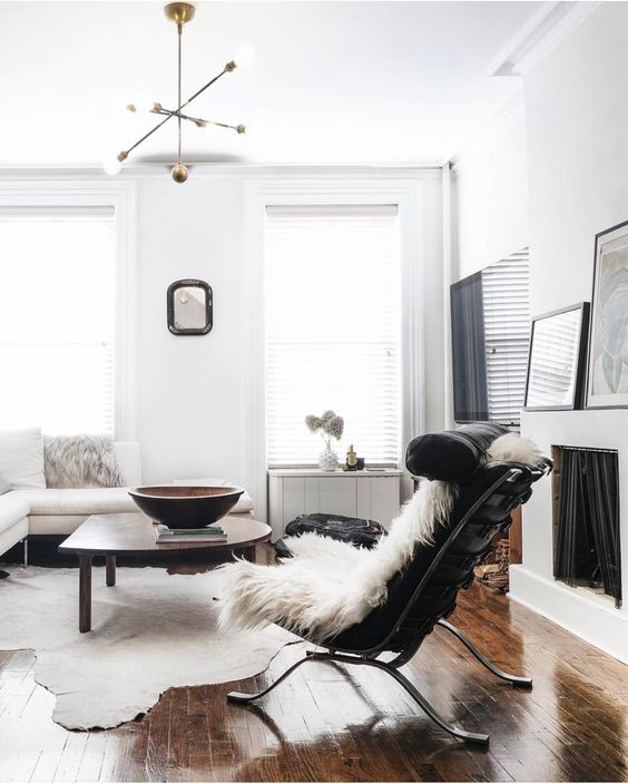 5 Things Minimalist Apartments Make Room For | Additional Seating | Statement Chair