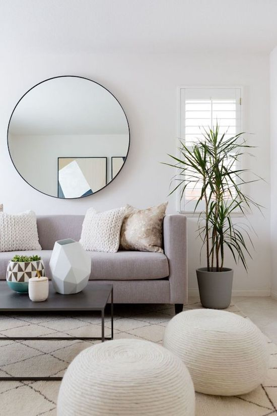 5 Things Minimalist Apartments Make Room For | Additional Seating Poufs