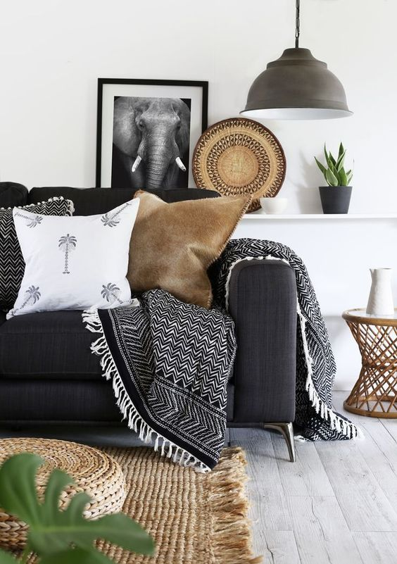 5 Things Minimalist Apartments Make Room For | Cozy Throw Blankets