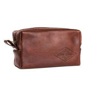 Father's Day Gift Ideas | Gifts For Dad | Gifts For Men | Leather Toiletry Travel Bag