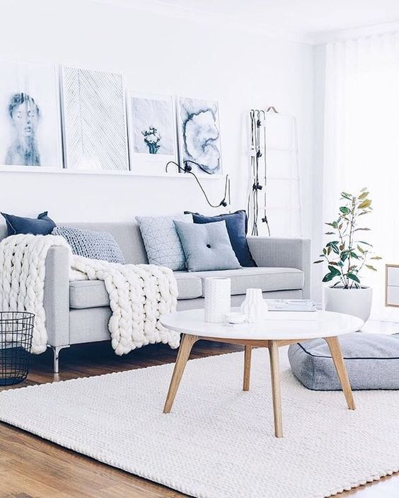Apartment Decor For Summer | Summer Decor Trends | Blue Accents