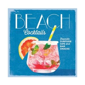 Summer Bar Cart Items | Beach Cocktails Recipe Book