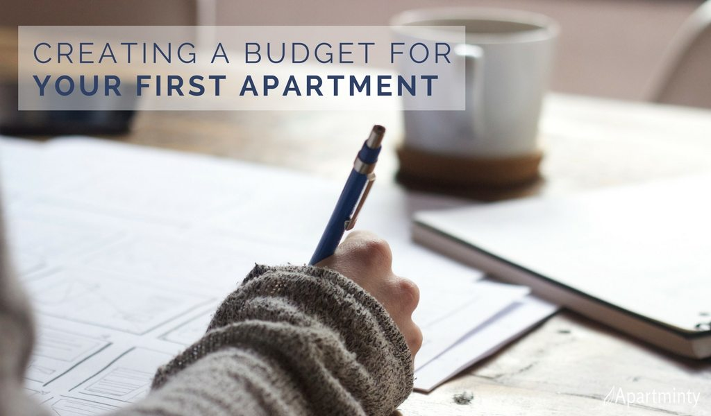 First Apartment Budget