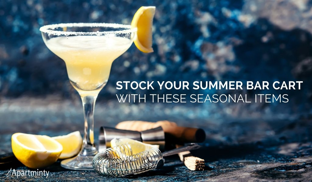 Stock Your Summer Bar Cart With These Fun Seasonal Items