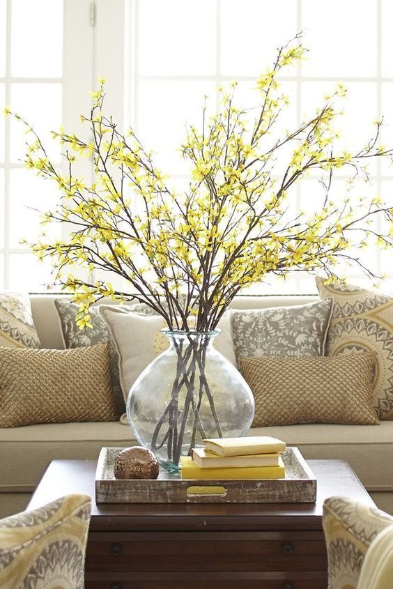 Apartment Decor For Summer | Home Decor Trends | Yellow Accents