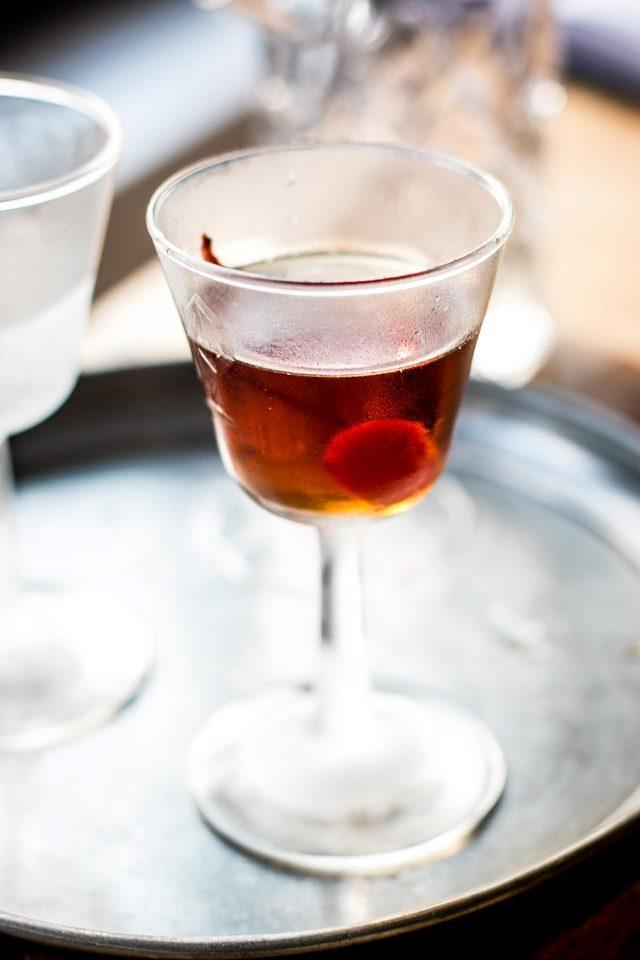 National Bourbon Day | Black Manhattan Cocktail Recipe