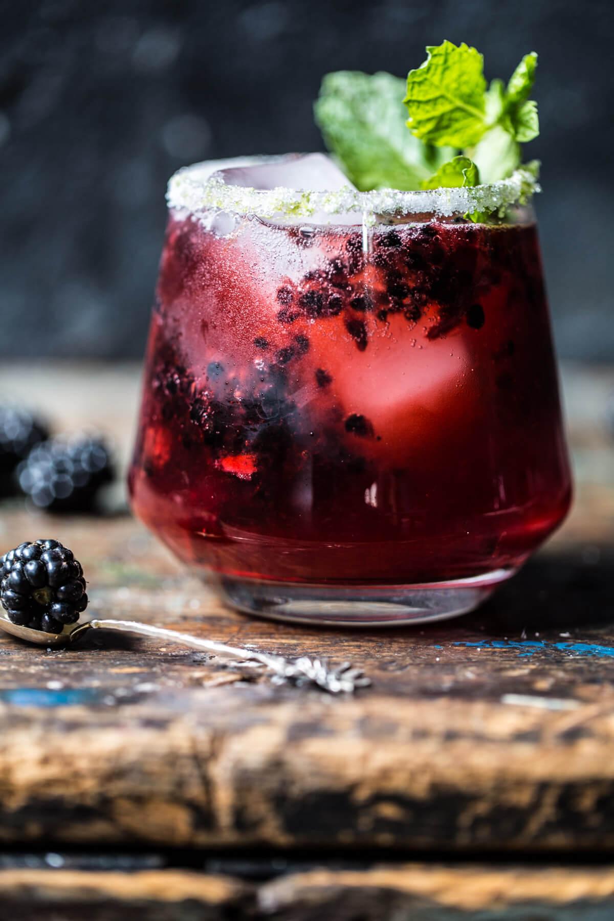 National Bourbon Day | Blackberry Bourbon Smash Cocktail Recipe