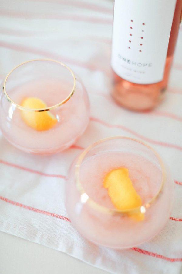 National Rosé Day | Frosé Recipe