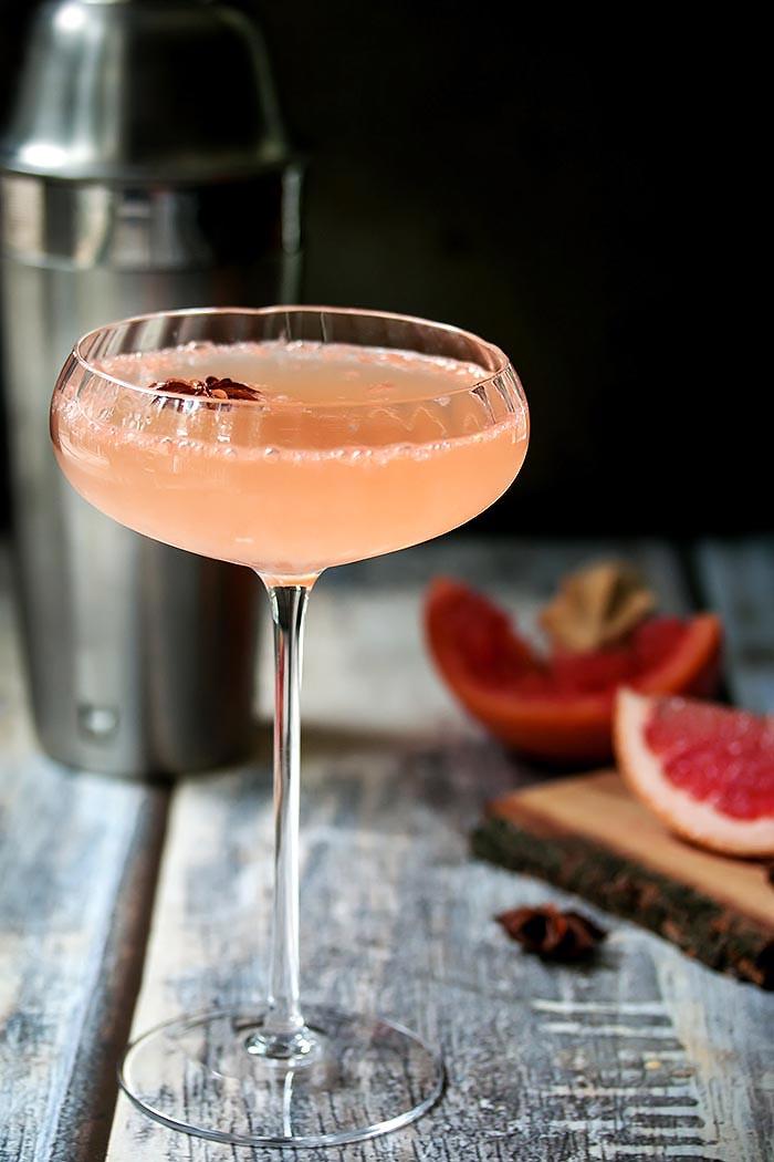 National Martini Day   Grapefruit Ginger Martini