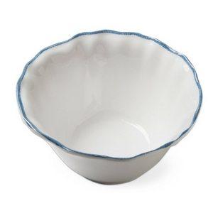 Outdoor Dining Essentials | Picnic Accessories | Ruffle Rim Melamine Bowls