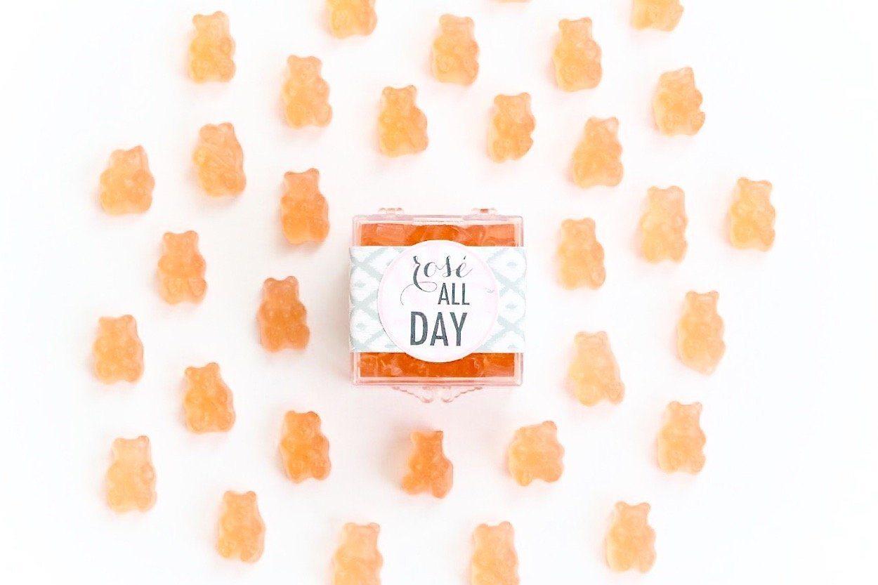 National Rosé Day | Rosé Gummy Bears