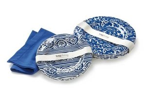 Outdoor Dining Essentials | Picnic Accessories | Artisan Melamine Dinner Plates
