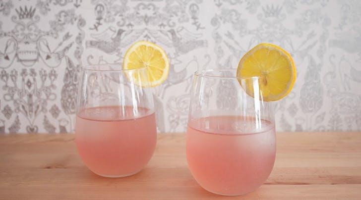 National Rosé Day | Rosé Lemonade