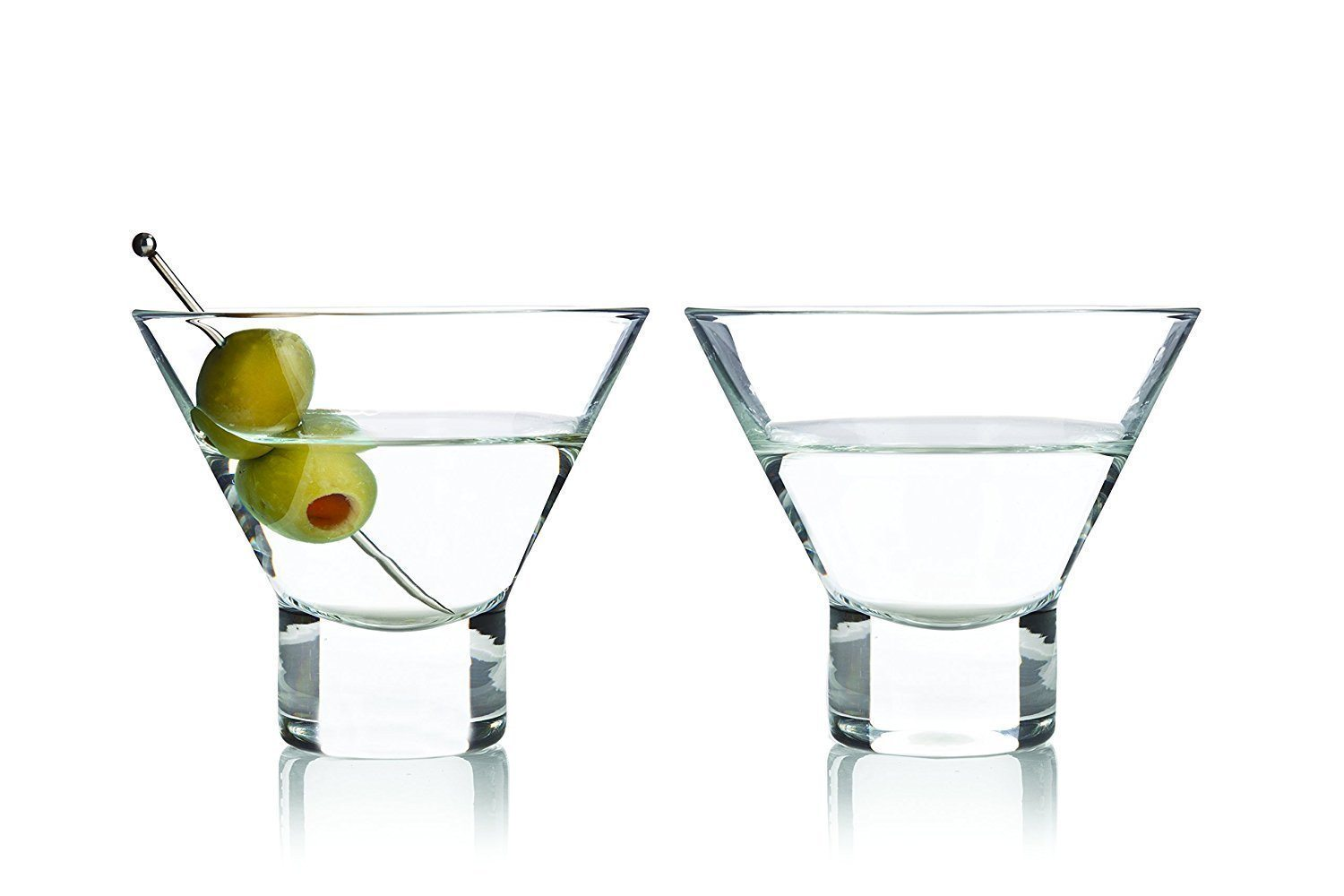 National Martini Day | Stemless Martini Glasses