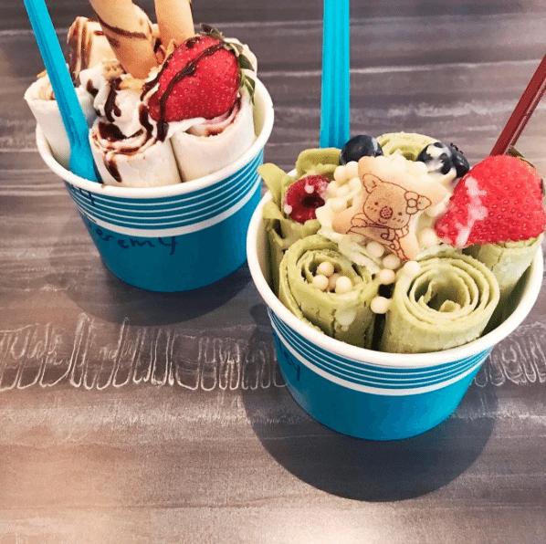 Best Ice Cream In DC | Icy Code Ice Cream Rolls | Rolled Ice Cream