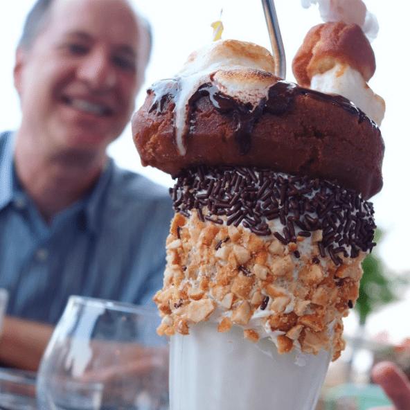 DC's Most Instagrammable Desserts | The Salt Line | Fluffernutter Milkshake