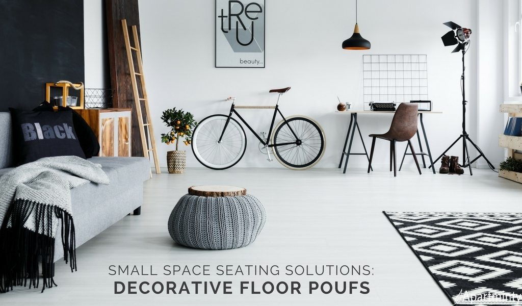 Superior Floor Poufs: Small Space Seating Solutions