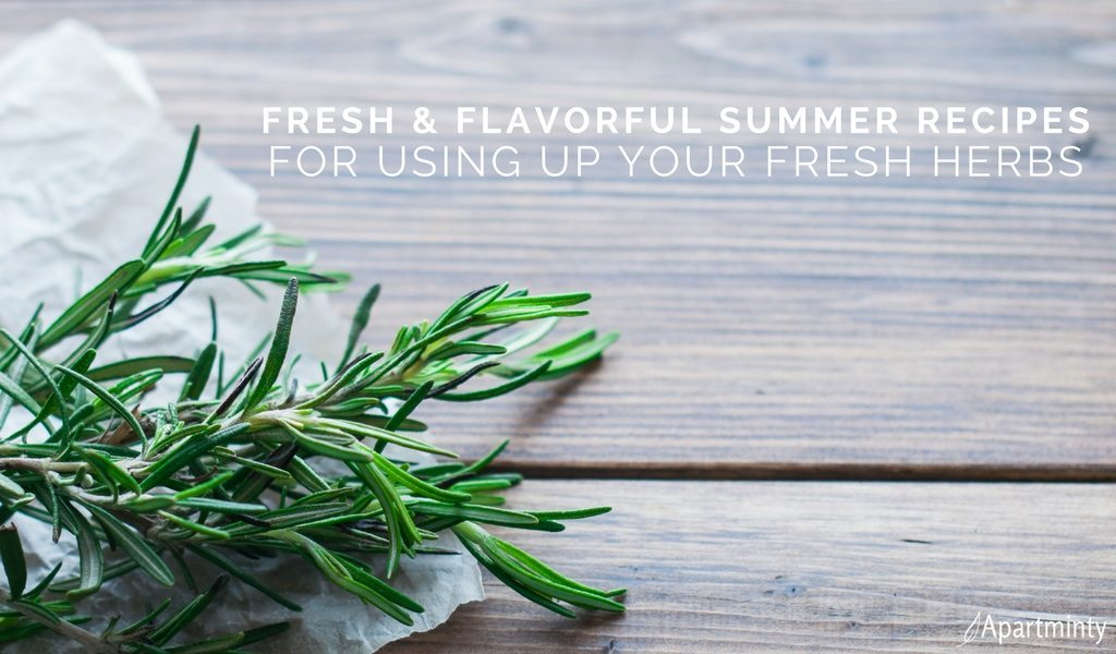 Summer Recipes With Fresh Herbs