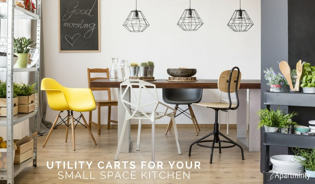 Maximize Storage Space utility carts that maximize storage space in your kitchen - apartminty
