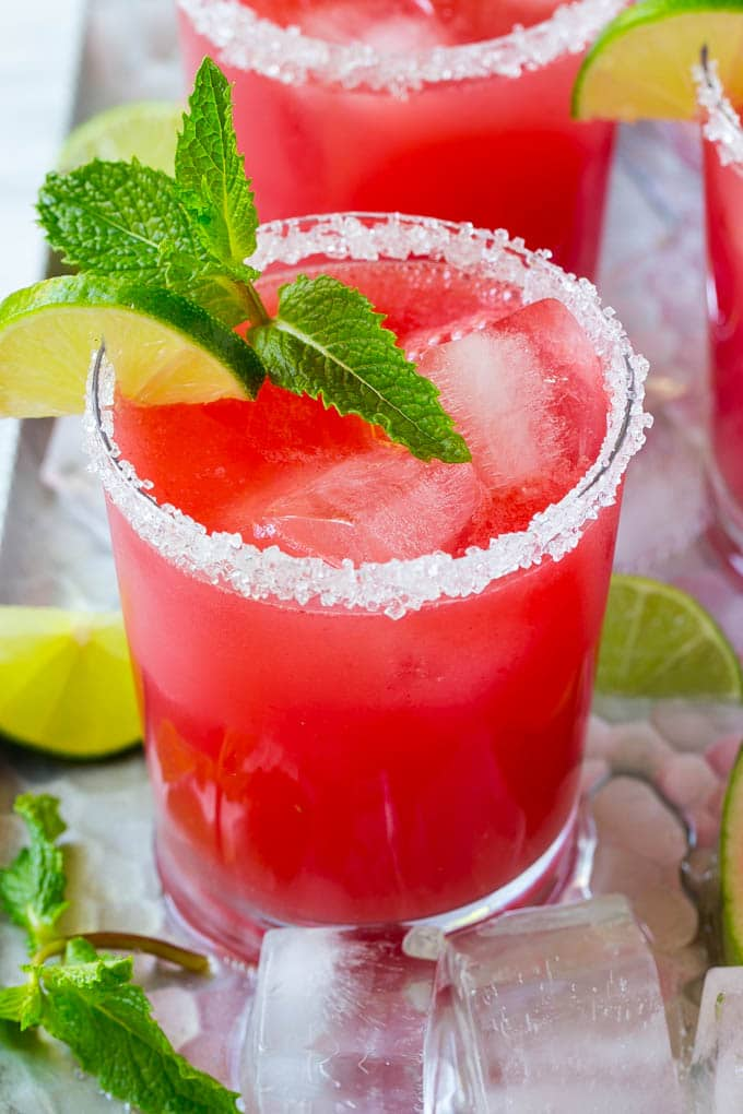 Watermelon Recipes for National Watermelon Day | Watermelon Agua Fresca