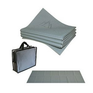 Small Space Fitness Equipment For Your Apartment | Folding Travel Yoga Mat